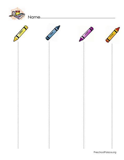 standing line pattern worksheets for kindergarten scissor skills printable recherche google cutting