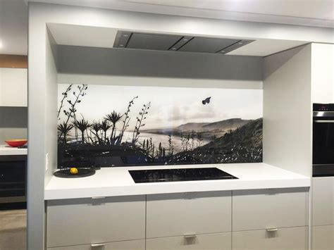 Kitchen Benchtop Ideas by Splashback Examples Printed Images On Glass Kitchen