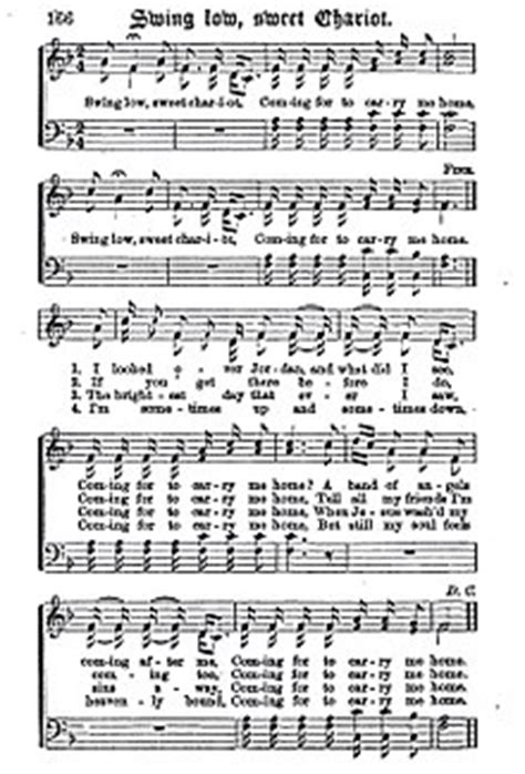 swing low sweet chariot fisk jubilee singers swing low sweet chariot wikipedia