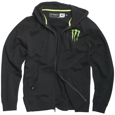 Hoodiezipper Energy one industries official energy back it up hooded