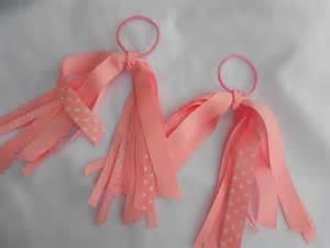 ribbon hair ties ponytail ribbon streamer hair ties ready to ship
