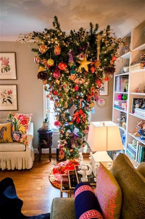 hanging upside down christmas trees reinventing space 44 best images about favorite upside down christmas tree