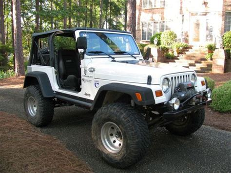 1997 Jeep Wrangler Tj Purchase Used 1997 Jeep Wrangler Tj Rockcrawler Lifted