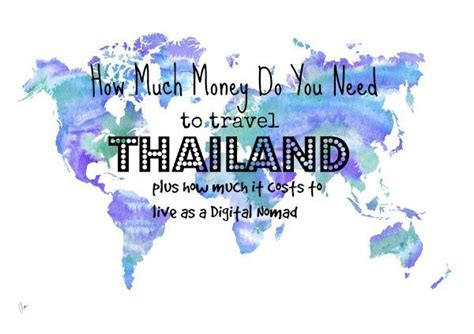 how much money do you need to live comfortably how much does it cost to live in thailand
