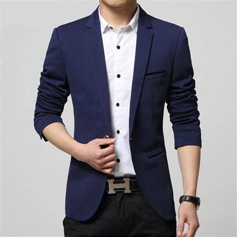 Fashion Style Korean Style Green Blazer single button mens blazers korean suit fashion 2016
