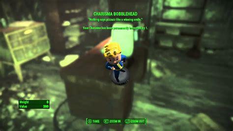 charisma bobblehead 4 charisma bobblehead fallout 4
