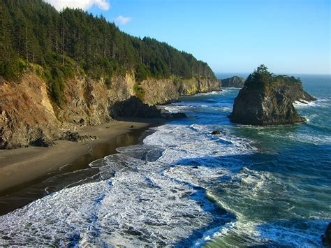 oregon beaches a traveler s companion books oregon coast explorer redwoods national forest the rogue