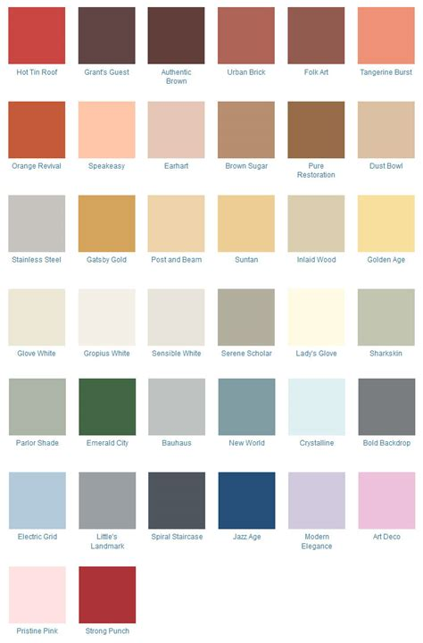 popular color palettes 1940s decorating colors fabrics flooring decor and more