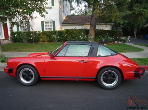 1986 porsche targa for sale 1986 porsche 911 targa 21 000 miles red greybeige leather1