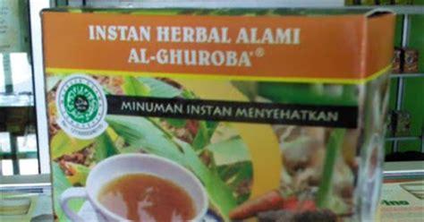 Instan Tempuyung Plus Herbal Al Ghuroba jamu asam urat instan cabe puyang jamu asam urat herbal