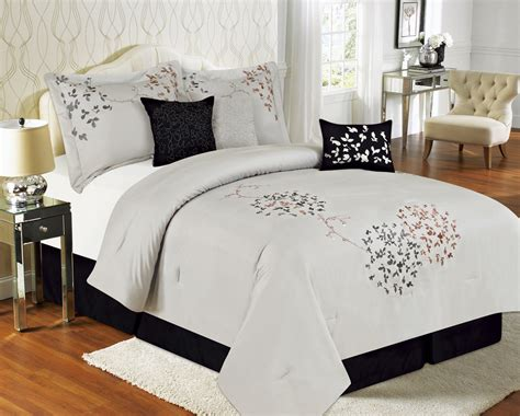 vikingwaterford page 111 comfortable 7 king calantha silver gray bedding comforter