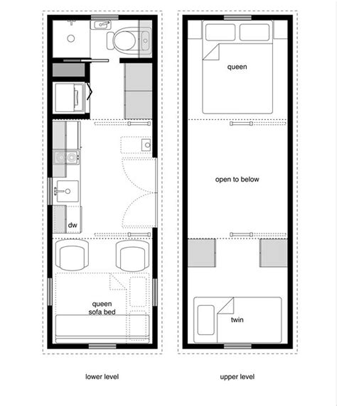 sleep out floor plans 8x24 5 tiny house floor plan with washer dryer