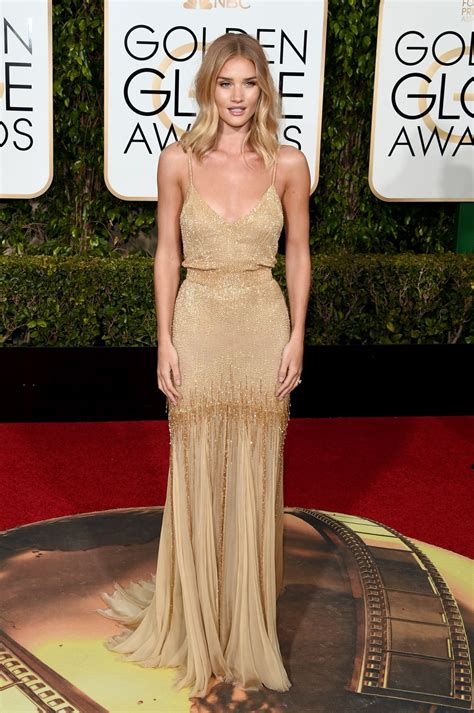 The Globe Dress rosie huntington whiteley 2016 golden globe awards in