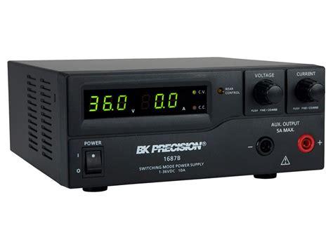bench dc power supply bk 1687b switching bench dc power supply 1 36 v 0 10 a