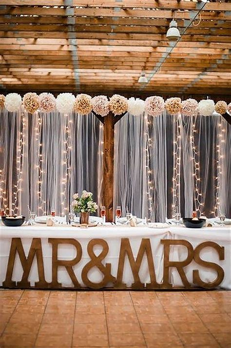 wedding backdrop ideas with columns 30 stunning and creative string lights wedding decor ideas