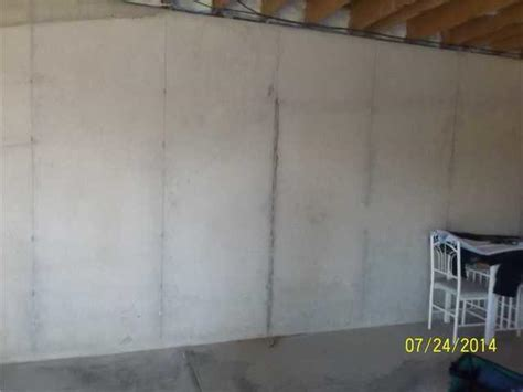 water seeping through basement walls before after photos