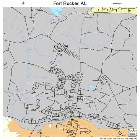 fort rucker alabama map 0127640