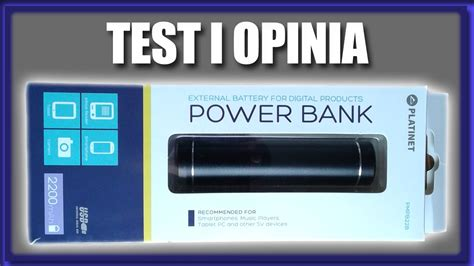 test power bank power bank platinet 2200mah test