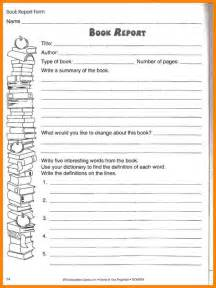 A 5th Grade Book Report by 10 Book Report Template 5th Grade Dialysis
