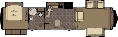 redwood rv floor plans redwood to introduce front living room fiver rv business