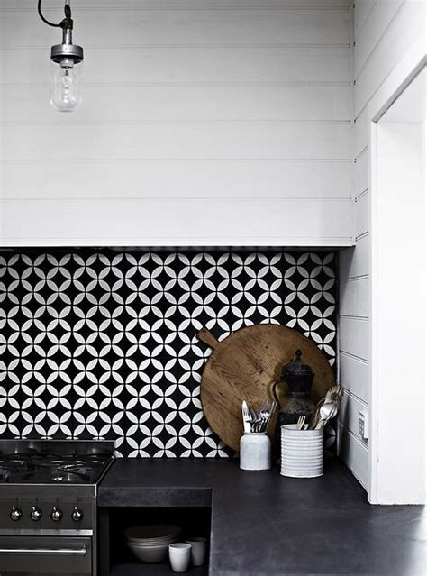 Designer Backsplashes For Kitchens by Tiled Splashbacks Are Back Get Your Feature Tile Fix At