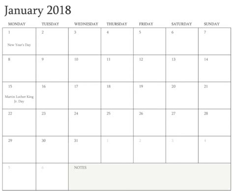 printable calendar 2018 fillable january 2018 calendar fillable free archives printable