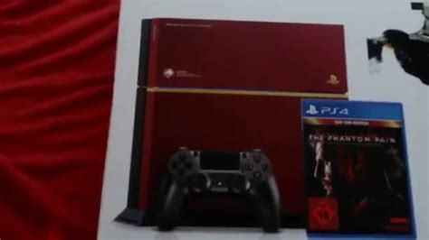 Ps4 2dark Limited Edition New unboxing ps4 metal gear solid v limited edition alleine aufgenommen