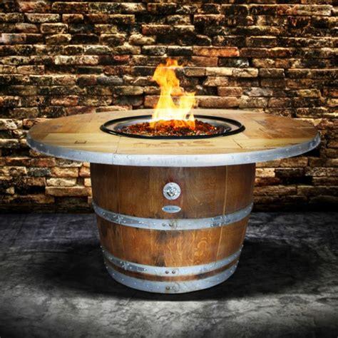 Wine Barrel Fire Pit Enthusiast Vin De Flame Wine Country Wine Barrel Pit