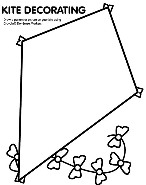 printable images of kites pin kite template printable on pinterest