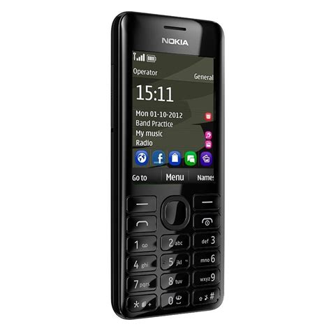 Nokia Asha 206 Latest Themes | nokia asha 206 black theme