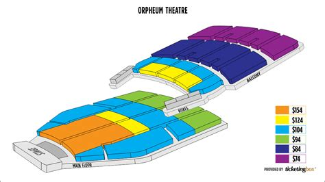 orpheum theatre minneapolis seating map orpheum minneapolis floor plan gurus floor