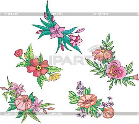 imagenes vectoriales florales dise 241 os florales serie de im 225 genes de alta calidad