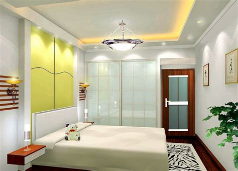 interior decoration ideas pop false ceiling light design for bedroom interior