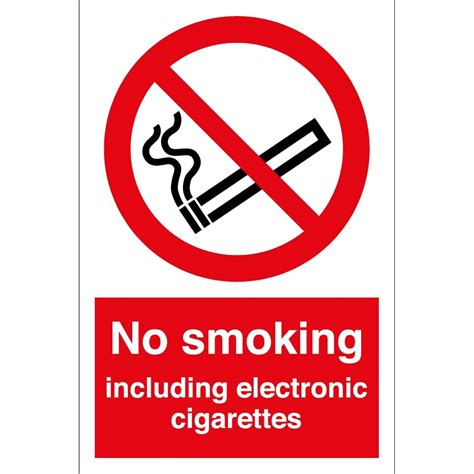 no smoking sign e cigarettes no smoking including electronic cigarettes signs from