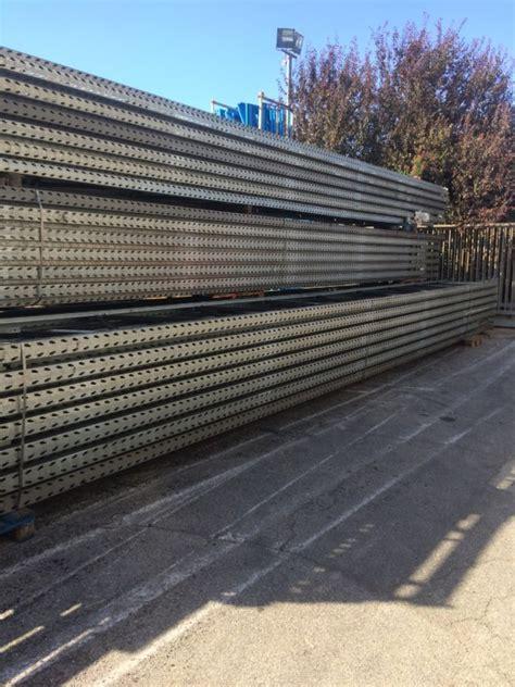 scaffali portapallets scaffalature usate portapallet h 12000 mm scaffali usati