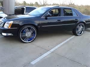 Cadillac Dts Rims 2006 Cadillac Dts On 24s Ryangthaboss 2006 Cadillac Dts