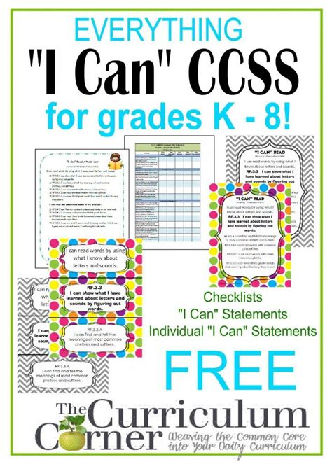 1000 images about common core on pinterest common core 3rd grade common core math standards i can statements