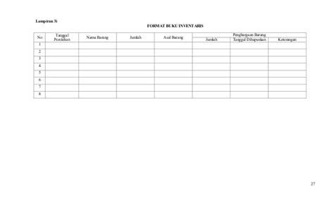 format buku tamu umum pedoman administrasi paud