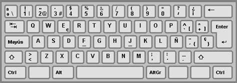spanish keyboard layout spain keyboard layout