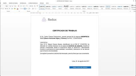 como descargar sertifidos en microsoft gratis como hacer un certificado de trabajo en word 2013 2016