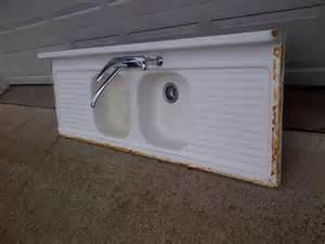 Cast Iron Kitchen Sinks For Sale Vintage Basin Drainboard Porcelain Cast Iron Sink