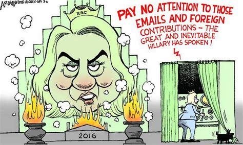 hillary political cartoons obama orders hillary clinton arrest if trump assassinated
