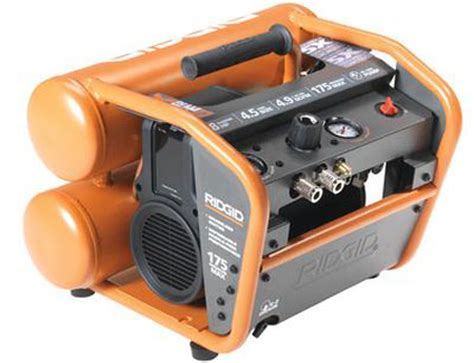 ridgid portable compressor to tempt to find