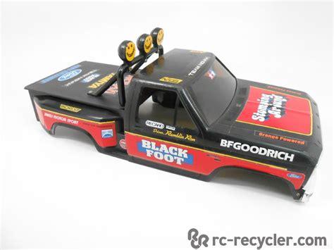 tamiya rc truck bodies tamiya 1 10 scale blackfoot ford f 150 flareside hard abs