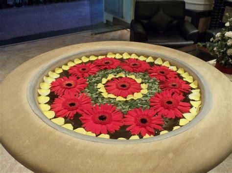 floating floral arrangement via albindia adventures around the world