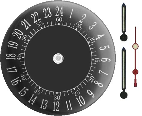 printable 24 hour clock analog clock face quotes