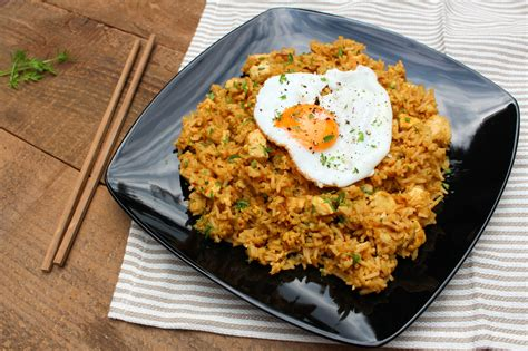 nasi goreng indonesian fried rice authentic street