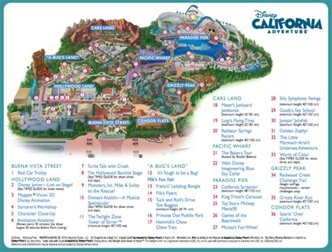 california adventure park map disneyland resort quot the happiest place on earth quot magical