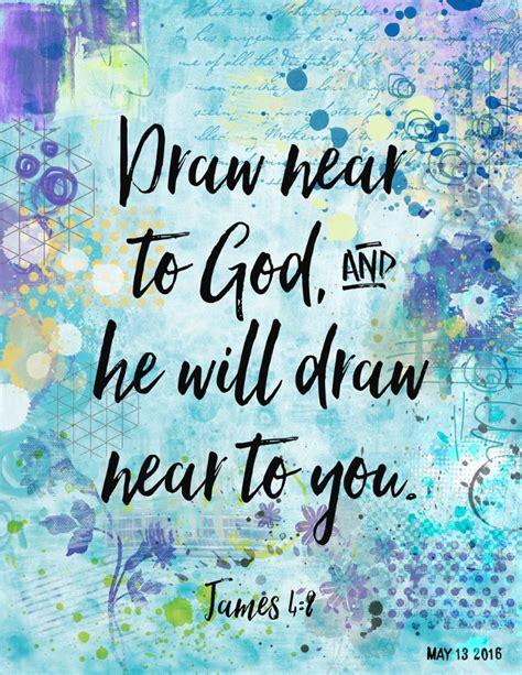 Draw Near To God Prayer Journal by Draw To God Bible Journal