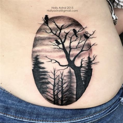 black tree tattoo designs 60 tree tattoos that can paint your roots